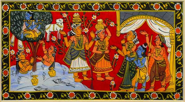 The Cheriyal Paintings from Warangal