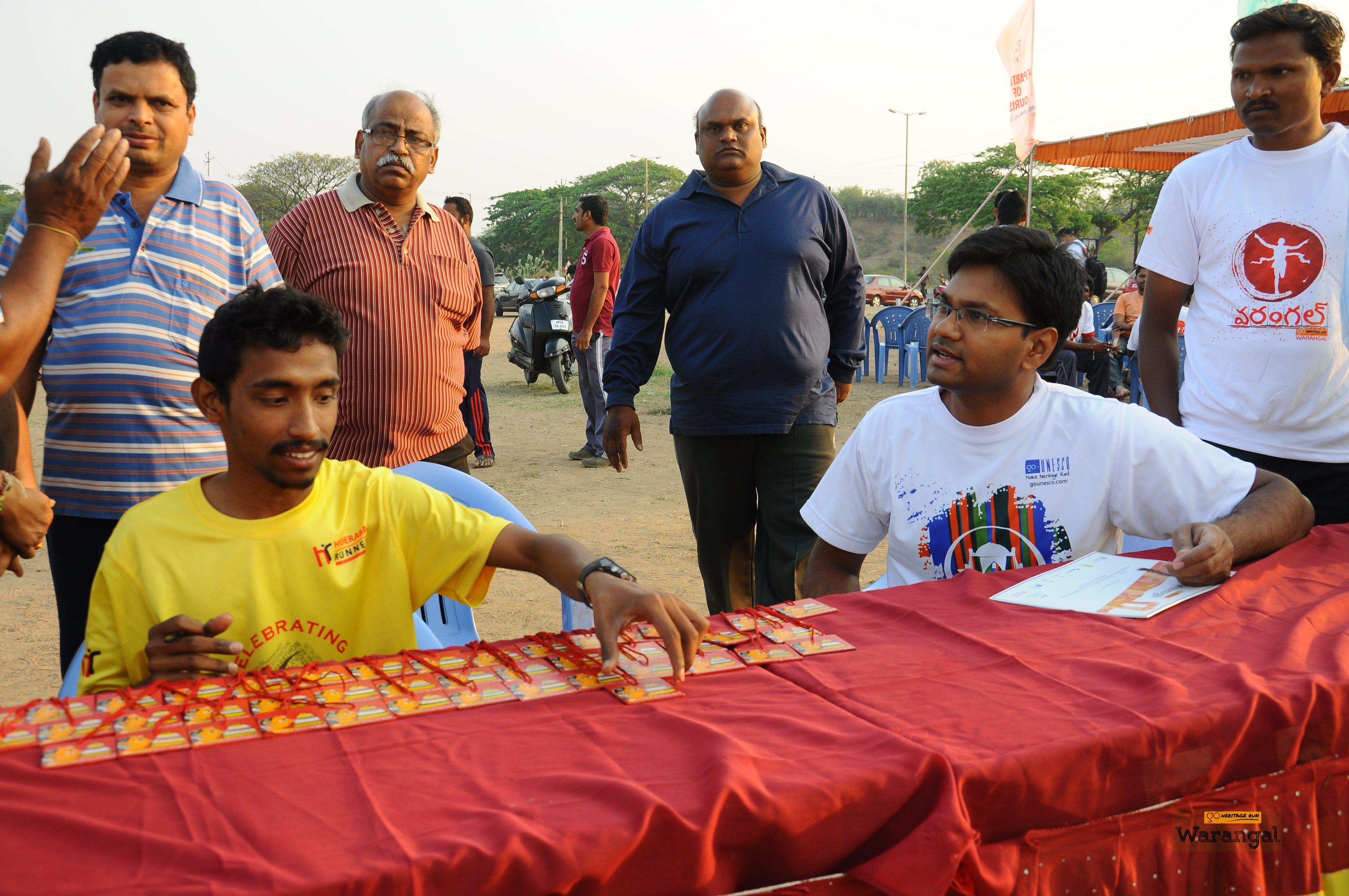 Cheriyal painting Medals ready for finishers