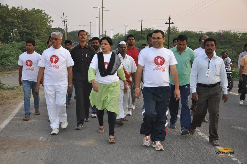 District officials take part in the run
