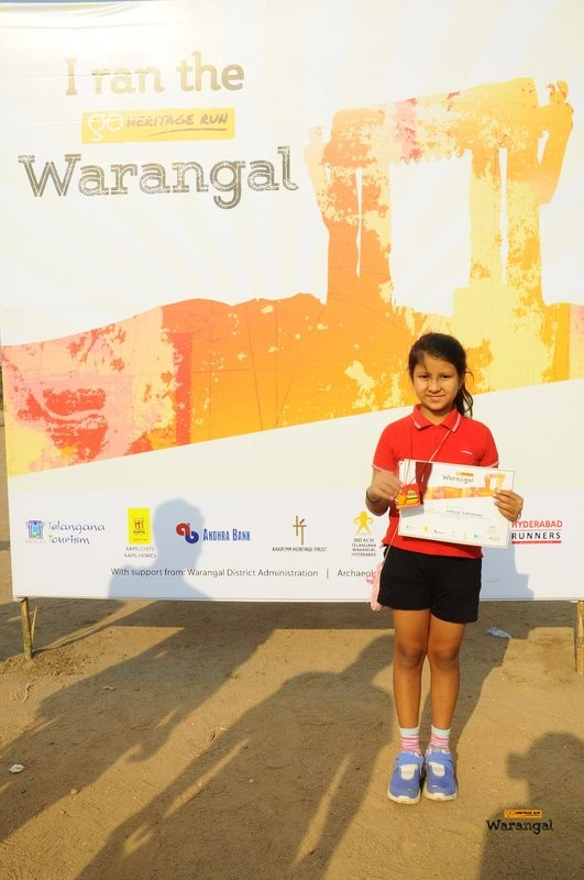 One of our young runners