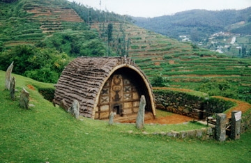 This is no ordinary hut. Picture