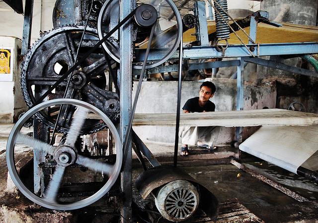 Visit a paper factory