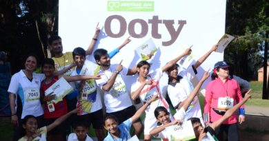 Ooty run participants