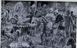 Pulikesin_II_the_Chalukhaya_receives_envoys_from_Persia-tiny