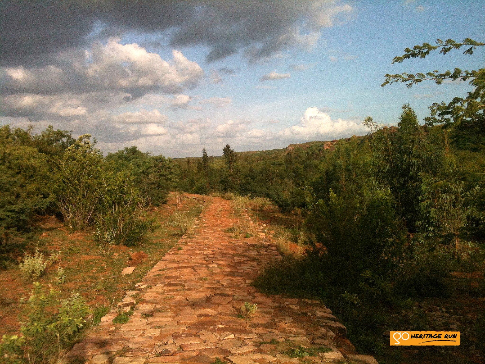Badami Greenery on Route