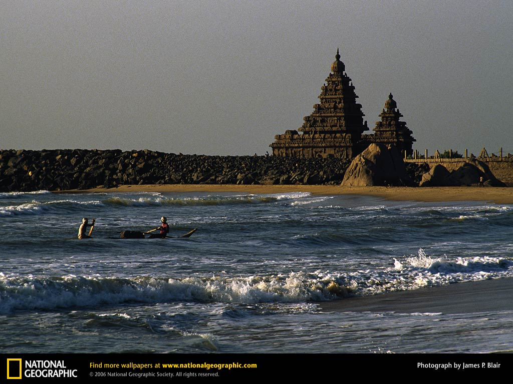 Breathtaking view of the Shore Temple Mahabalipuram
