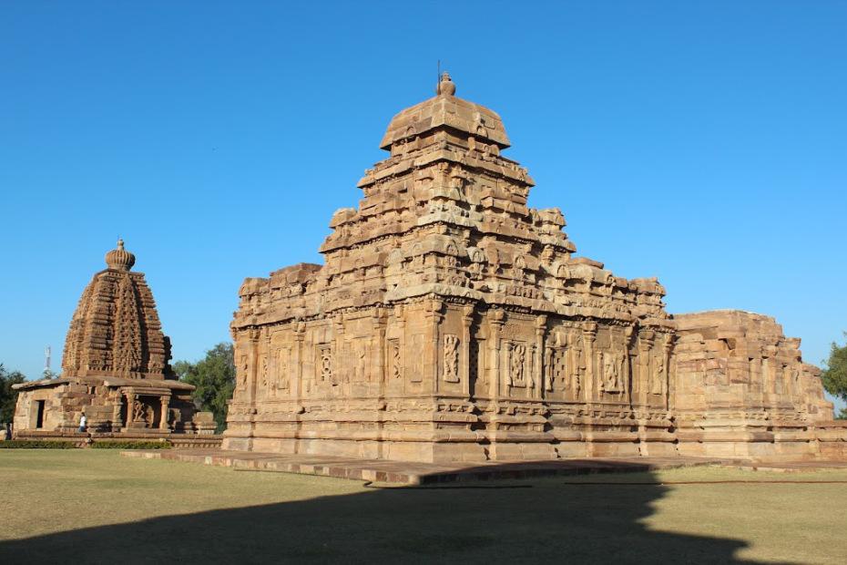 Galaganatha and the Sangameswara temples at Pattadakal Temple complex