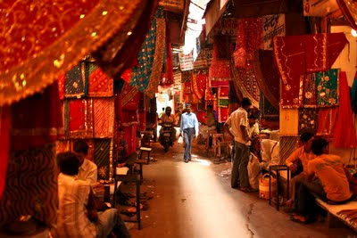 Market Streets of Udaipur