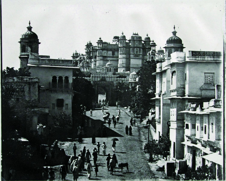 Badi Pol, The City Palace, Udaipur, c. 1900