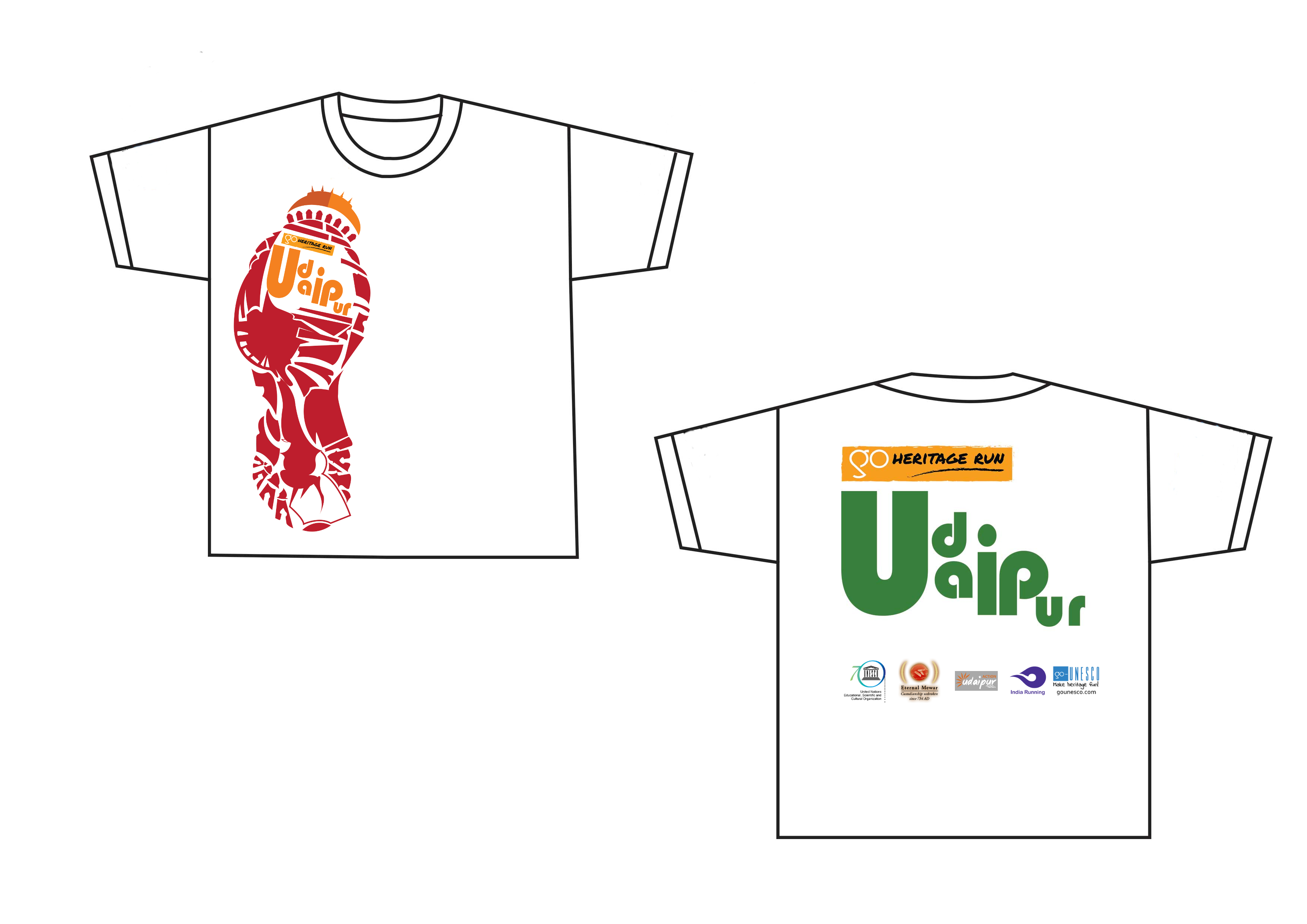 GHR Udaipur t-shirt