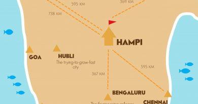 Hampi location map