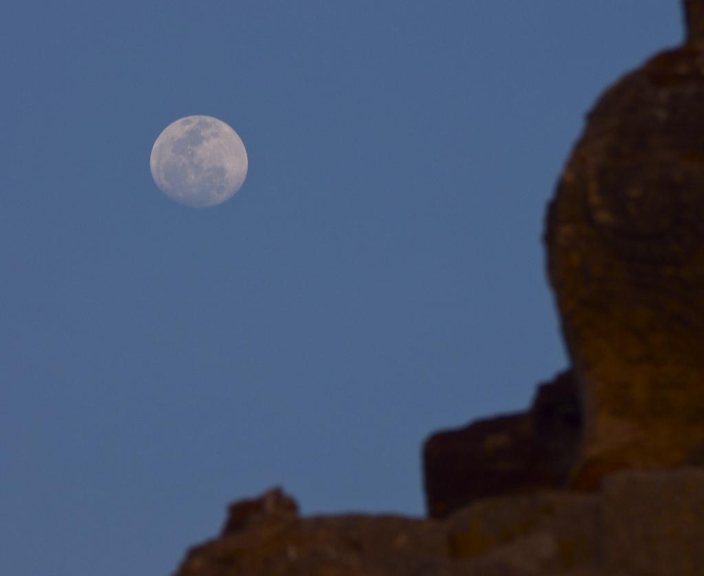 Moon in Hampi-Matt Feifarek