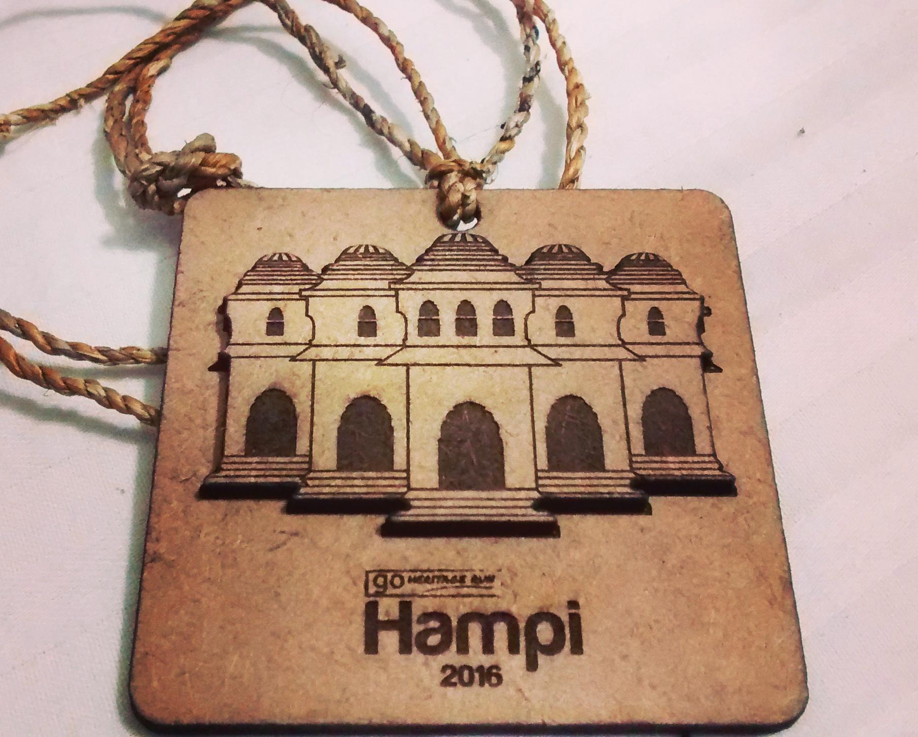 GHR Hampi 2016 Medal
