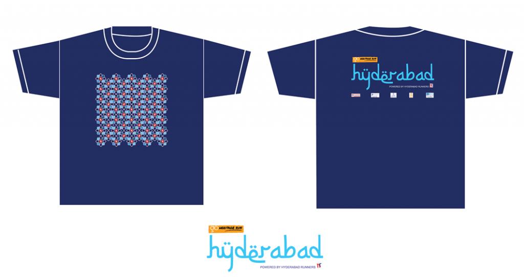 GHR Hyderabad Run Tshirt