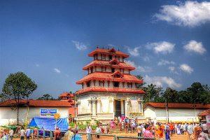 Bhagamandala Temple, a pilgrimage place in Kodagu district of Karnataka