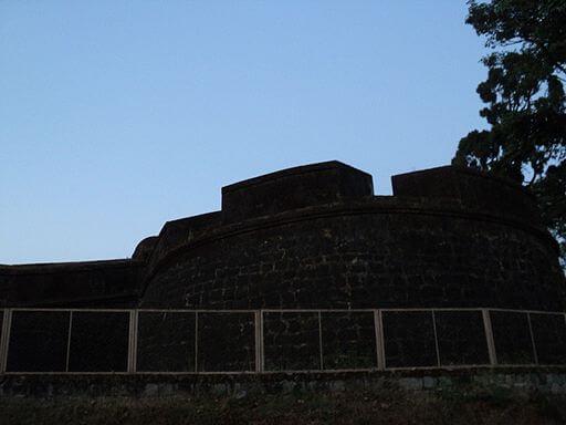 Madikeri Fort wall