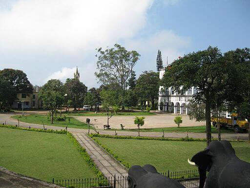 Madikkeri fort grounds