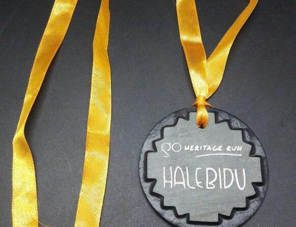 GHR Halebidu, 2017: Finishers Medal