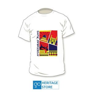 Hyderabad Comic Running T-shirt