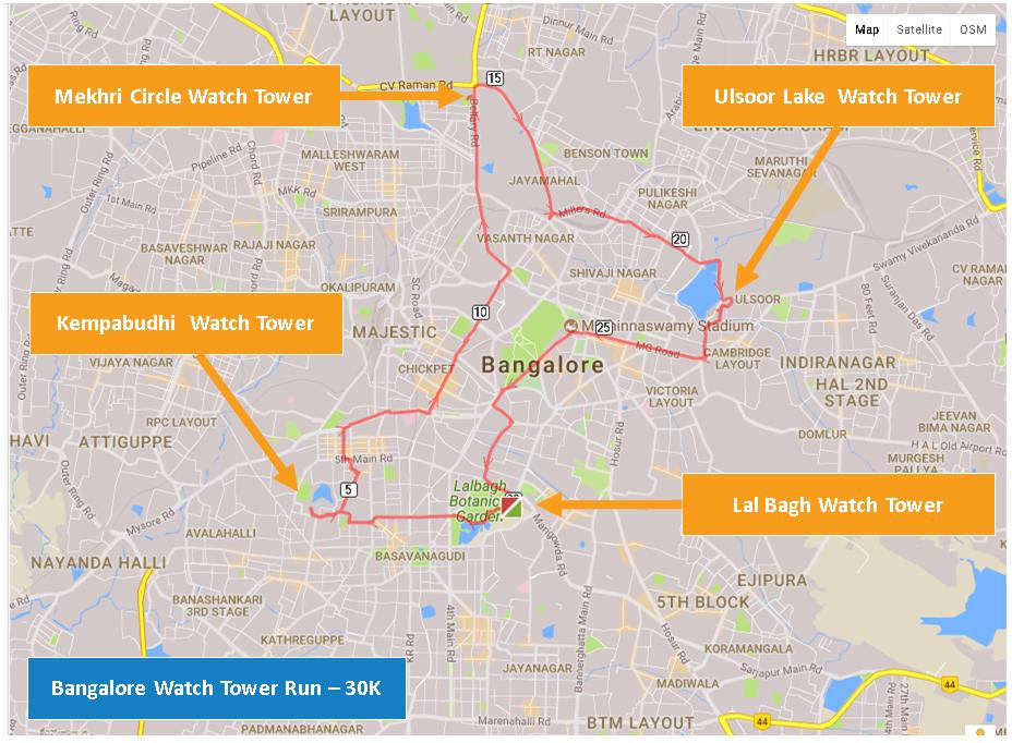 Bangalore Watch Tower Run