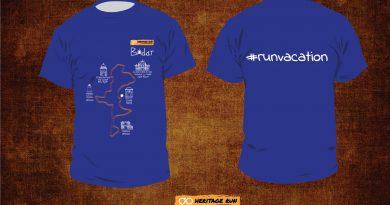 Bidar 2017 Run T-shirt