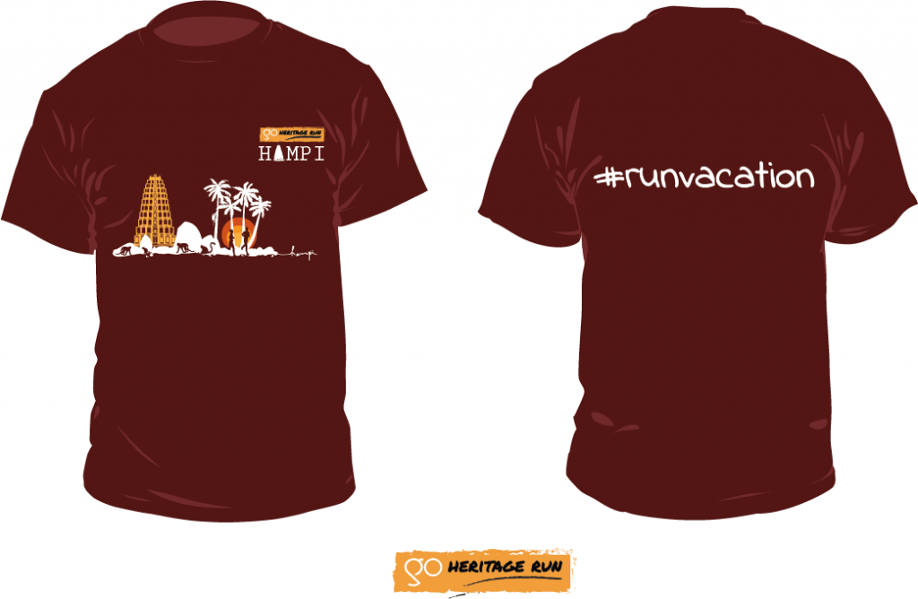 Hampi 2018 Run T-shirt