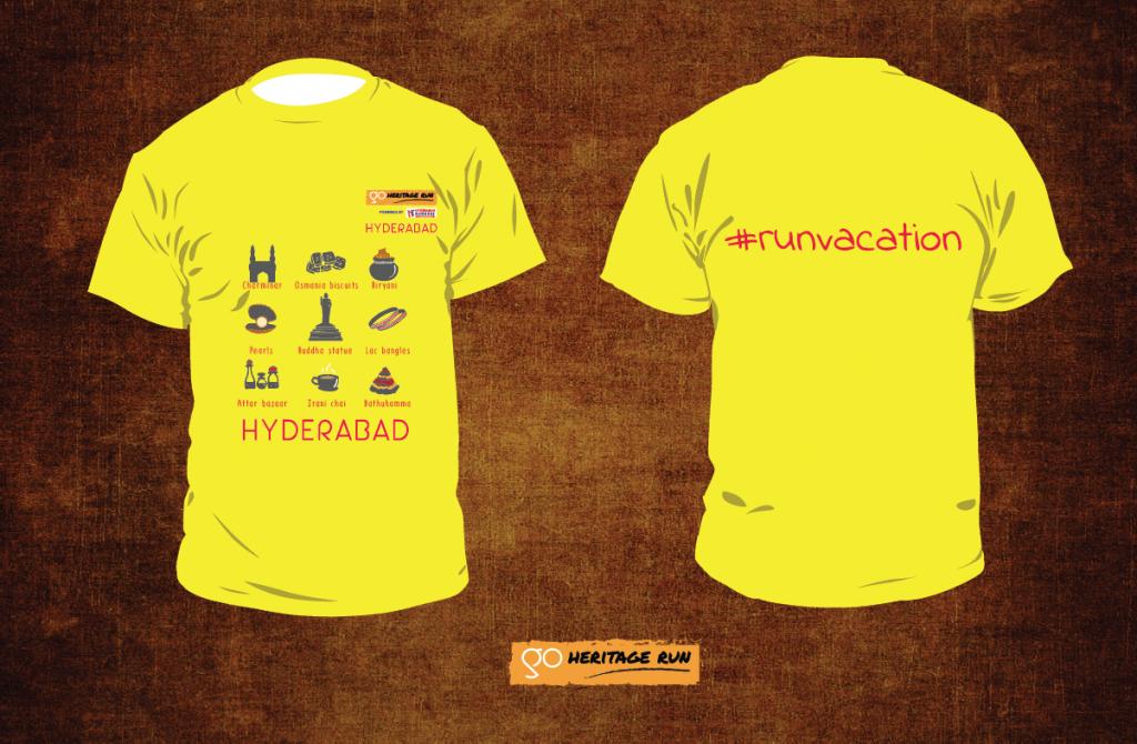 GHR Hyderabad 2018 Run T-shirt