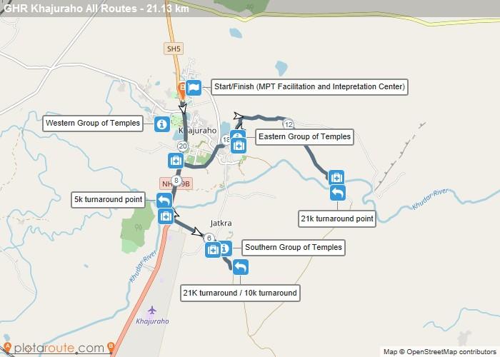 GHR Khajuraho Routes