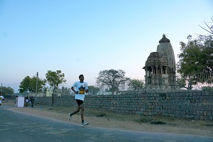 khajuraho run routes