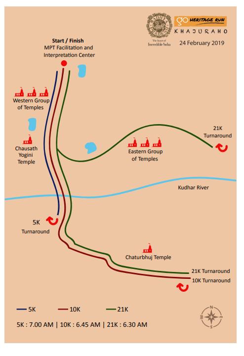 khajuraho 2019 map