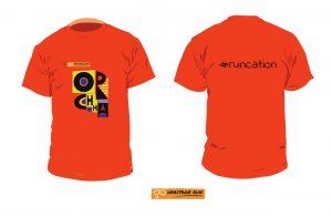 Go Heritage Run Orchha 2019 tshirt
