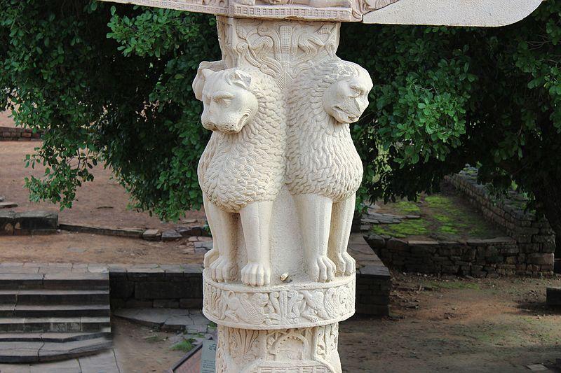 Ashoka PIllar Sanchi