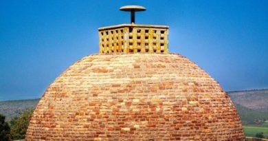 Sanchi Stupa- The DomeFI