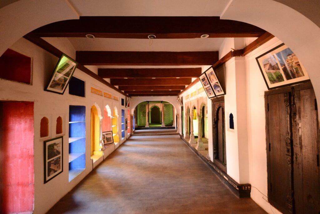 Inside of Gohar Mahal
