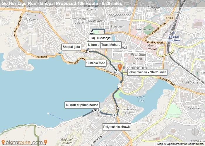 Go Heritage Run- Bhopal- 10km