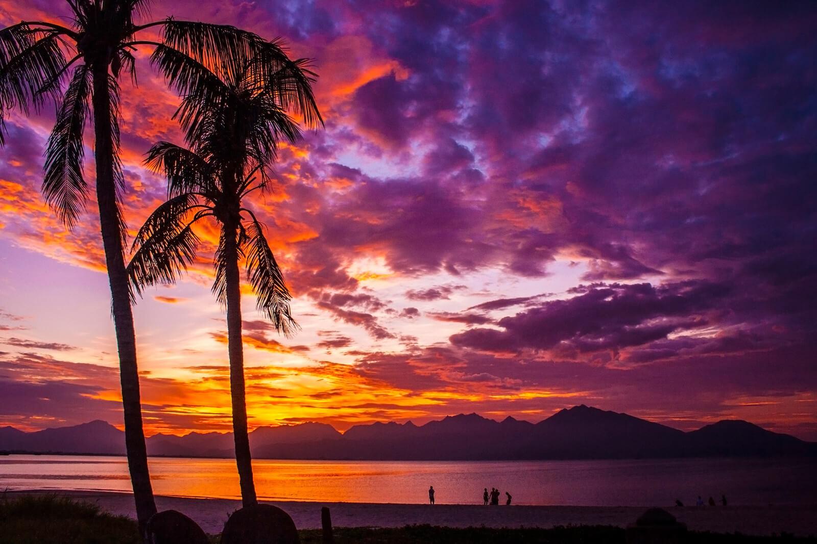 Dan Nang Sunset Beach Vietnam