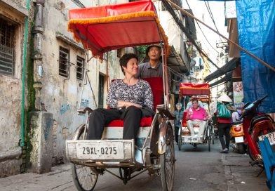 Vietnam cycle in Hanoi