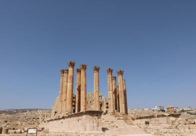 Runcation Jordan Jerash, Temple of Artemis