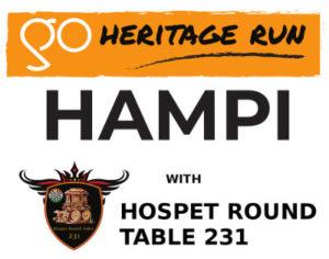 go heritage run hampi logo