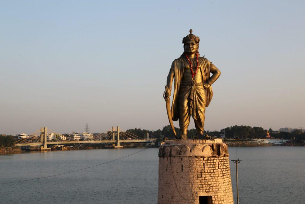 Raj Bhoj Statue