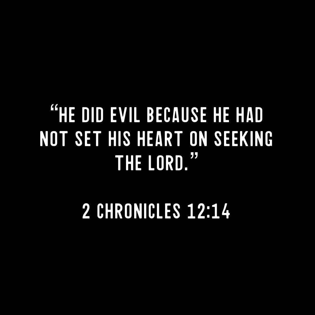 Set Your Heart on Seeking God