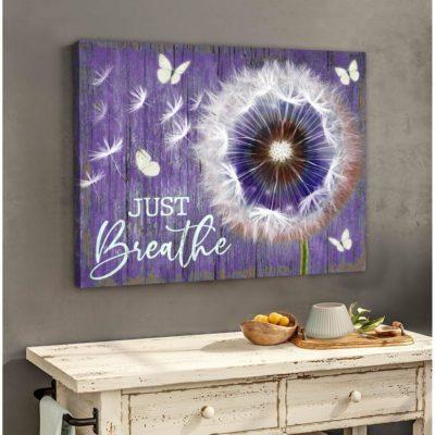 dandelion canvas art
