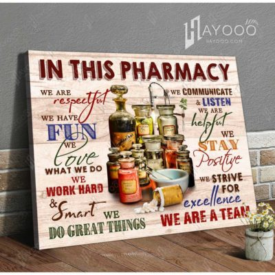 Pharmacy Decor