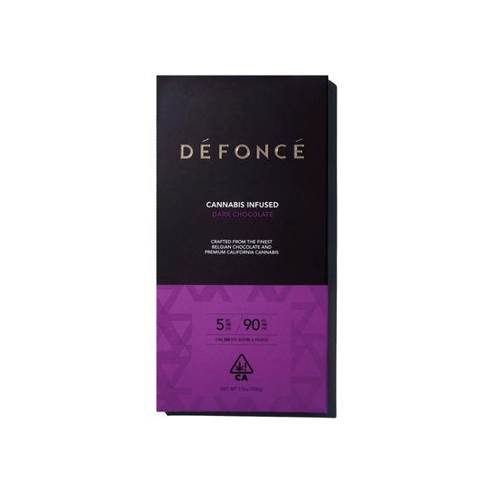 Defonce - Dark Chocolate Bar (100mg THC)