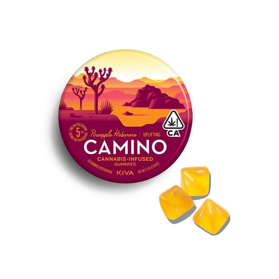 Camino - Pineapple Habanero Gummies (100mg THC)
