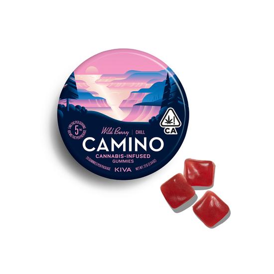 Camino - Wild Berry Gummies (100mg THC)