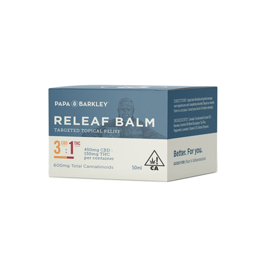 Papa & Barkley - 3:1 Releaf Balm (450mg CBD : 150mg THC / 50ml)