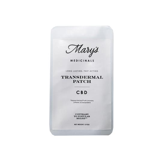 Mary's Medicinals - CBD Transdermal Patch (≈20mg)