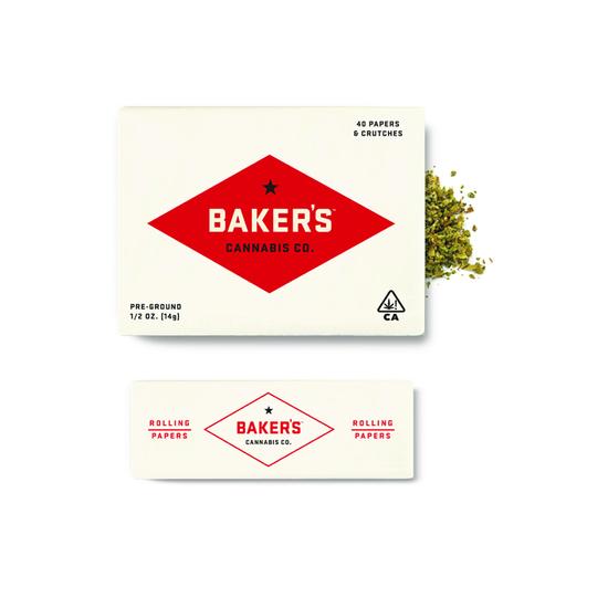 Baker's Cannabis - Peach Ozz (S) Pre-Ground (1/2 Ounce)