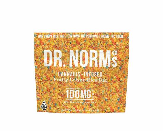Dr. Norm's - Fruity Crispy Rice Bar